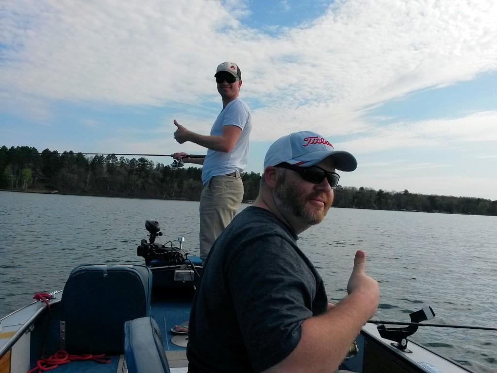 I mn fishing fishing report from park rapids and leech for Leech lake fishing