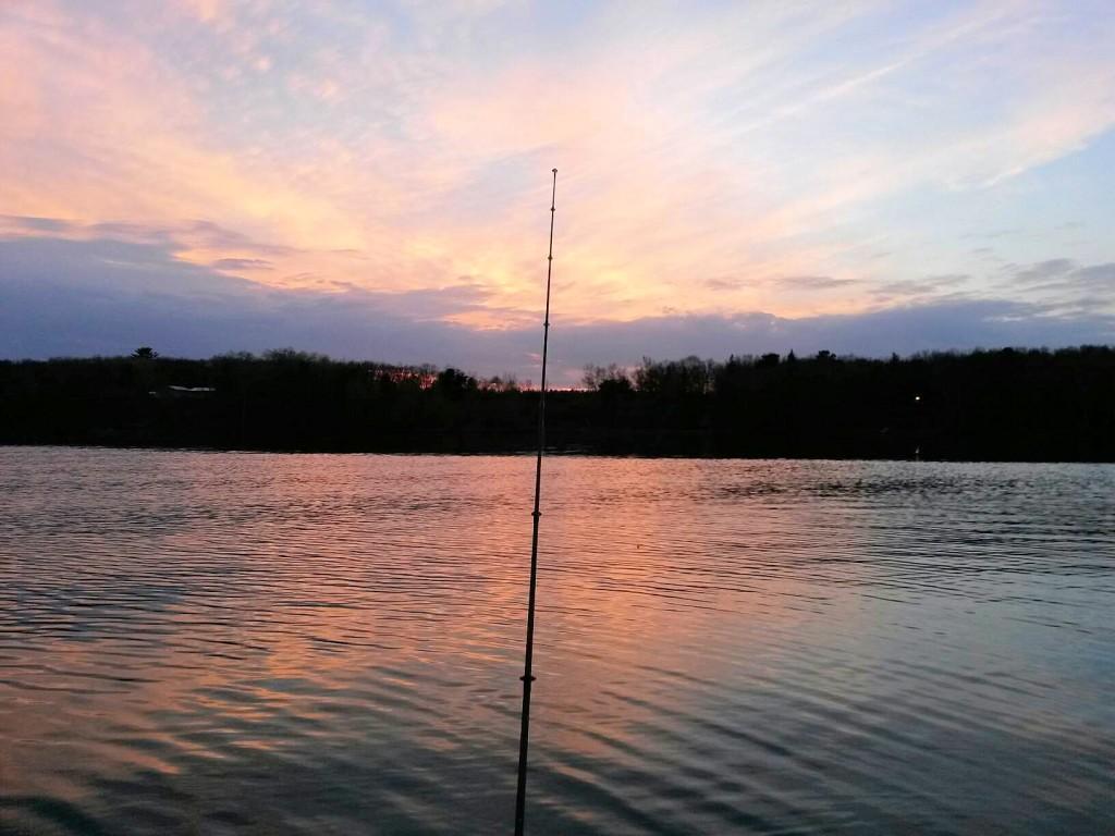 Sunset on Leech!