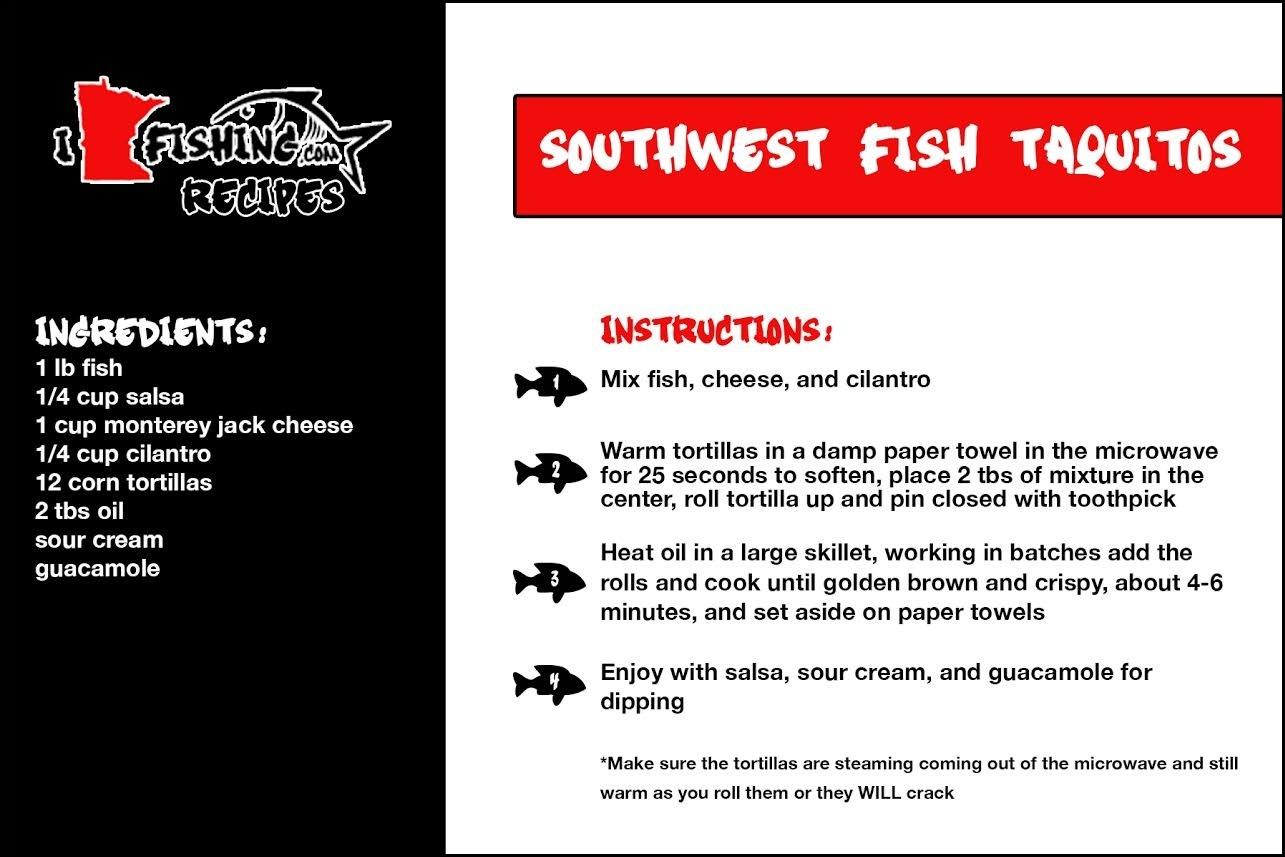 southwestfish taquitos recipe